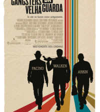 POSTER CINEMA gangsters da velha guarda