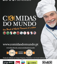 Cartaz Comidas do Mundo