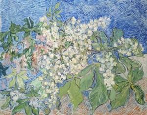 Vincent van Gogh (1853-1890) Ramos de Castanheiro em Flor, 1890 Óleo sobre tela, 73 x 92 cm Foundation E.G. Bührle Collection, Zurique