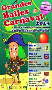 Cartaz Bailes Carnaval 2013_VRSA