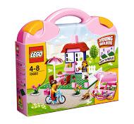 Mala rosa Lego