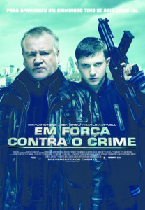 POSTER CINEMA em forca contra o crime