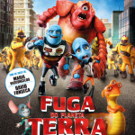 POSTER CINEMA fuga do planeta terra