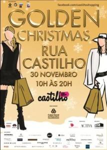 CASTILHO GOLDEN XMAS - CARTAZ