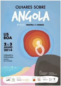 Cartaz Mostra de Cinema Olhares Sobre Angola 2014