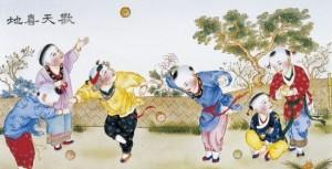 Jogos tradicionais orientais