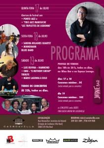 Festival Jazz&Wine 2014 - Flyer Tras (1)