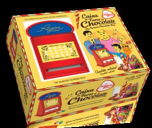 Caixa de Furos de Chocolate