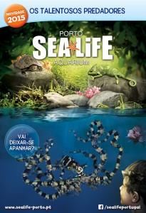 Sea Life_O Talento dos Predadores_Cartaz