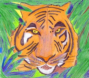 Wu Song mata um tigre