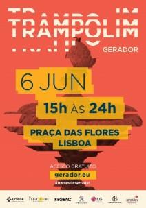 cartaz trampolim