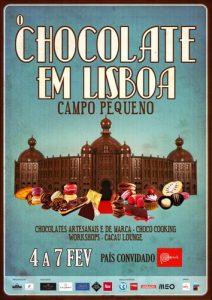 Cartaz O Chocolate em Lisboa
